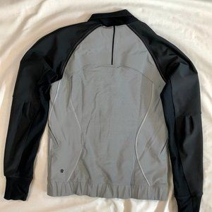 lululemon athletica Jackets & Coats - Lululemon athletica grey/black jacket